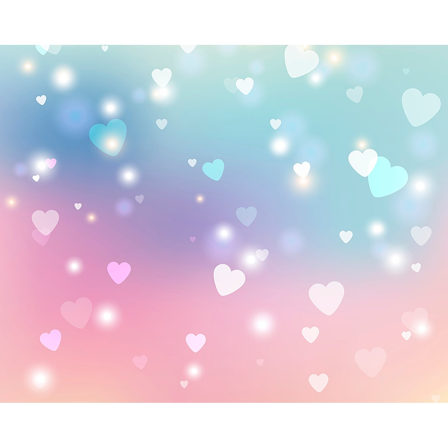 Brewster WALS0274  118 x 94 Non-Woven Sweet Hearts Wall Mural -