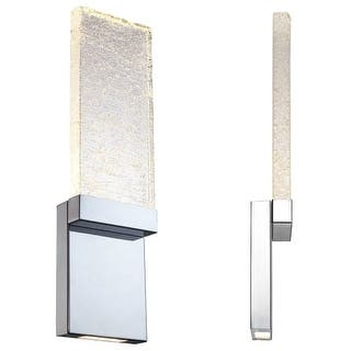 """Modern Forms WS-12721 Glacier 21"""" Height LED Dimming Bathroom Sconce https://ak1.ostkcdn.com/images/products/is/images/direct/b2ecf5e114686084dc378ce7ce11155df4ad2628/Modern-Forms-WS-12721-Glacier-21%22-Height-LED-Dimming-Bathroom-Sconce.jpg?impolicy=medium"""