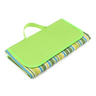 Outdoor Activities Traveling Camping Beach Mat Picnic Blanket Green 60 x 150cm