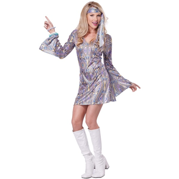 California Costumes Disco Sensation Adult Costume - MultiColor