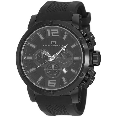 Oceanaut Men's Spider OC2122 Black Dial Watch