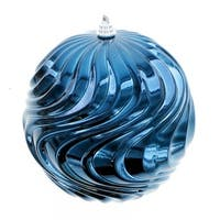 Blue Swirl Ball