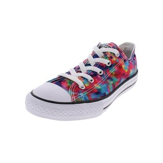 Converse Girls Chuck Taylor OX Fashion Sneakers Lace Up Low Top - 3 medium (b,m) little kid
