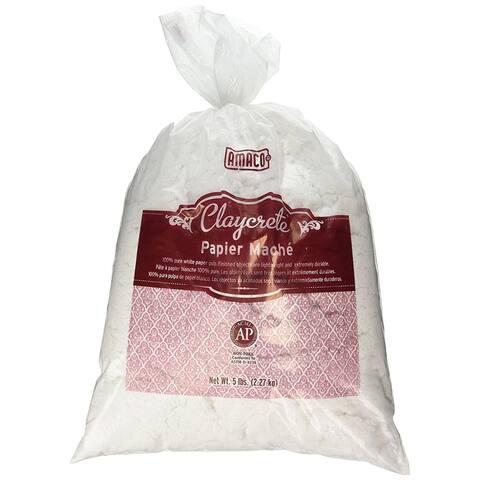 Claycrete Instant Papier Mache 5Lb Bag