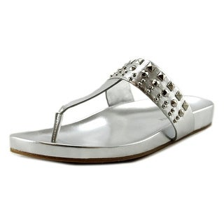 Marc Fisher Samba Open Toe Leather Thong Sandal