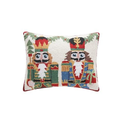 Dual Nutcrackers Hook Pillow