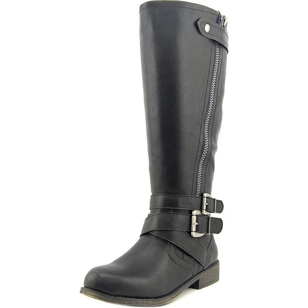 Madden Girl Cristy 2 Wide Calf Black Boots