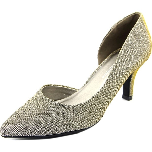 CL By Laundry Estelle Twilight Champagne Pumps