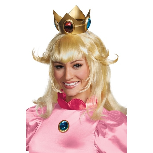 417d040e985b4 Disguise Princess Peach Adult Wig - Blonde