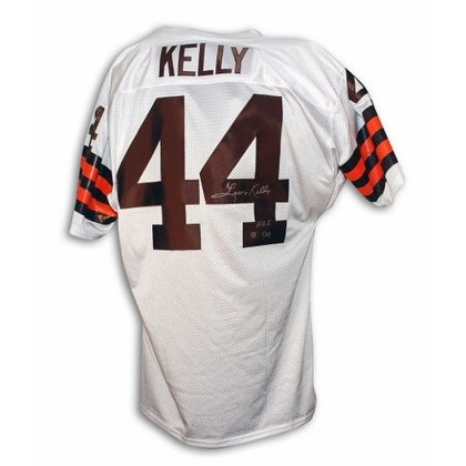 9df696e2a Shop Leroy Kelly Cleveland Browns Autographed White Throwback Jersey  Inscribed