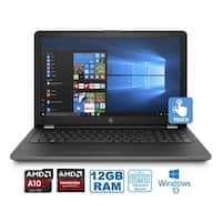 "HP 17-AK092 AMD A10-9620P 12GB 1TB HDD 17.3"" Touch WLED Radeon 535DX 2GB Laptop (Certified Refurbished)"