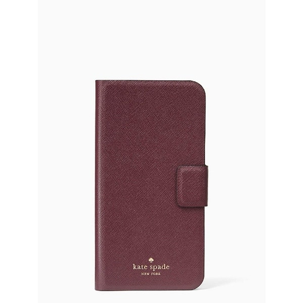 outlet store c94c3 d0891 Shop Kate Spade New York Leather Wrap Folio Case for iPhone 8 ...