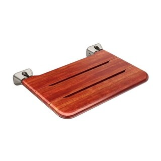 Mr Steam MSWSEAT Teak Wood Fold-Up Wall Mounted Shower Seat (2 options available)