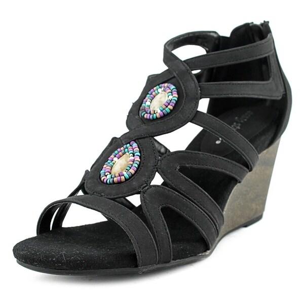Easy Street Unity Women Black Sandals