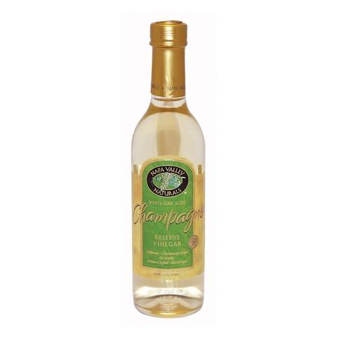 Napa Valley Naturals Champagne Reserve Wine Vinegar - Vinegar - Case of 12 - 12.7 Fl oz.