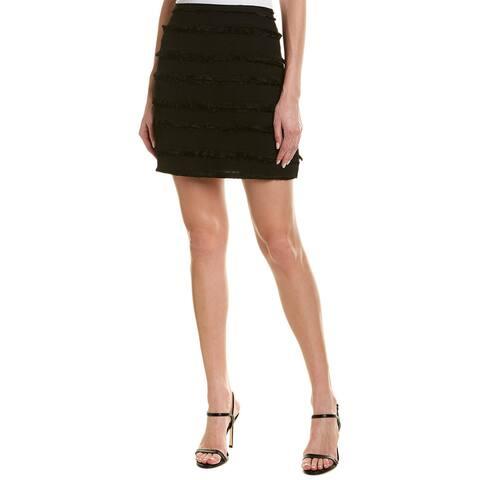 Michael Stars Fringe Mini Skirt