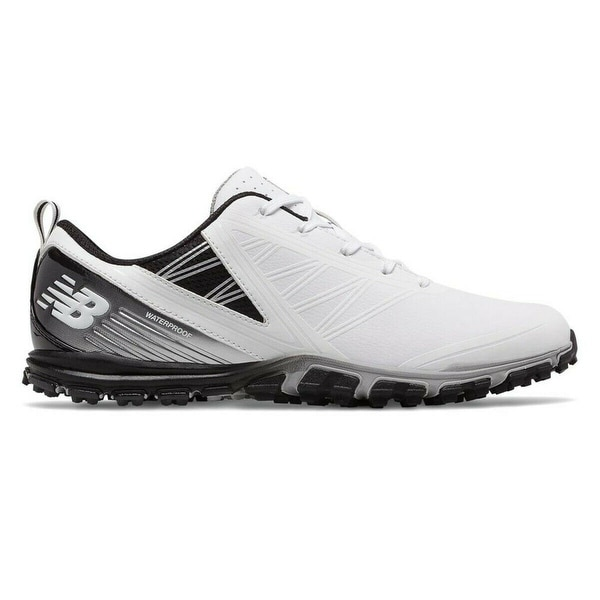 Men's New Balance Minimus SL White/Black Golf Shoes NBG1006WK-W (WIDE). Opens flyout.