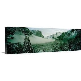 """Trees in a forest, Yosemite National Park, Mariposa County, California"" Canvas Wall Art"