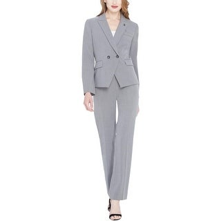 Tahari ASL Womens Pant Suit Business Attire Professional