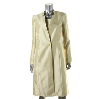 Le Suit Womens City Blooms Shantung 2PC Dress With Jacket