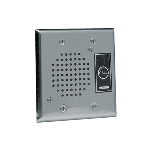 Flush Mount Doorplate Speaker, Stainle