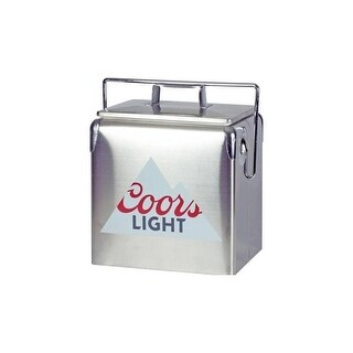 Koolatron CLVIC-13 COORS Light 13L Ice Chest - Silver