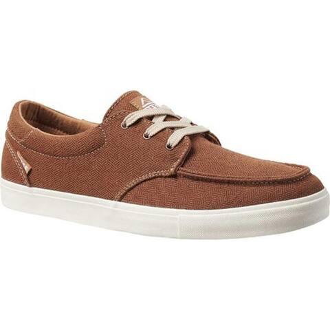 Reef Men's Deckhand 3 TX Sneaker Tobacco Cotton