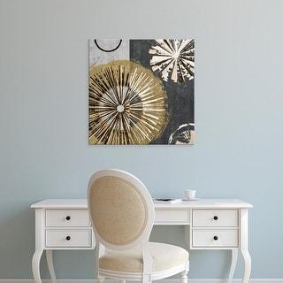Easy Art Prints James Burghardt's 'Outburst Tiles IV' Premium Canvas Art