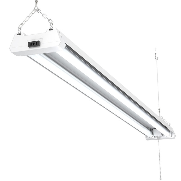 Shop Sunco Lighting 4FT Utility LED Shop Light 40W 4000K