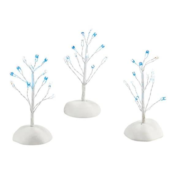 "Department 56 Snow Village ""Twinkle Brite, Blue & White"" Accessory#4030904 - WHITE"