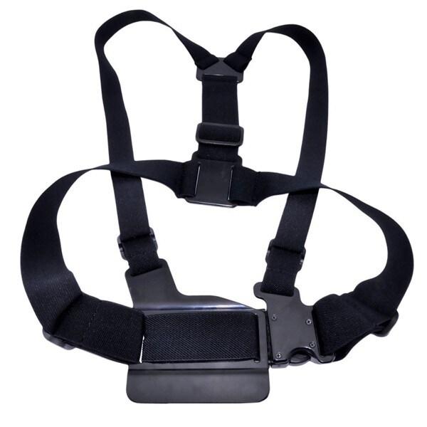 Spytec Chest Mount For Gopro Hero + Sj4000 Cameras With Adjustable Elastic Belt