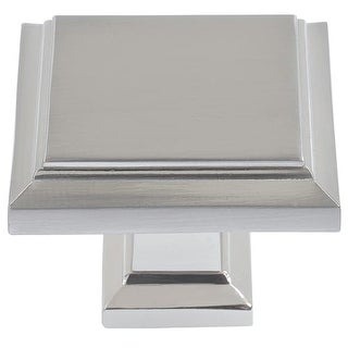 atlas homewares 289 sutton place 114 inch square cabinet knob