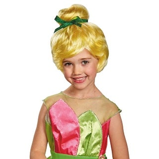 Disguise Tinker Bell Child Wig - Blonde