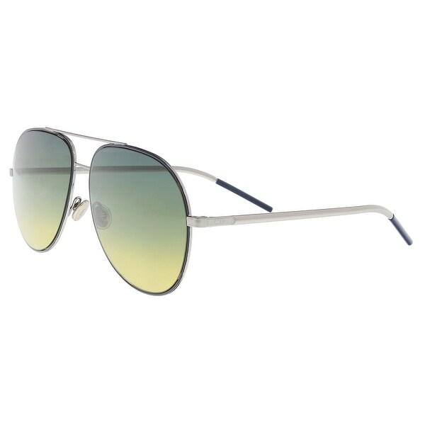 8332a359b12 Christian Dior DIORASTRAL 0DTY Blue Ruth Aviator Sunglasses - 59-14-145