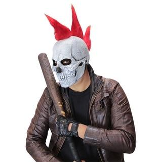 Adult Punk Skull Halloween Mask - Standard - One Size
