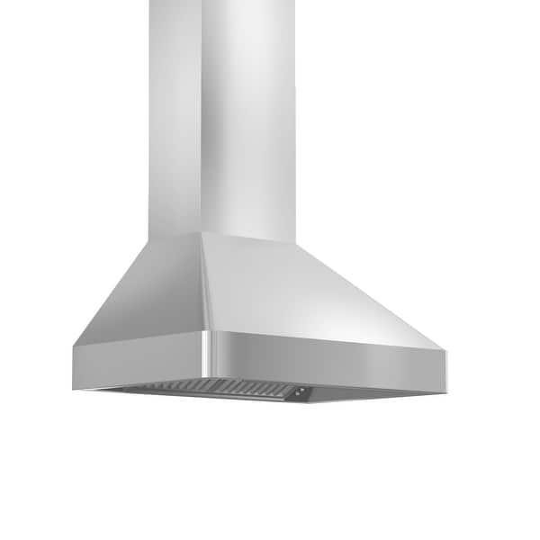 Zline 30 Professional Wall Mount Range Hood In Stainless Steel 30 In 30 In Overstock 13867922
