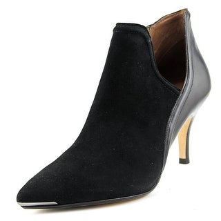 Donald J Pliner Taila Pointed Toe Suede Bootie