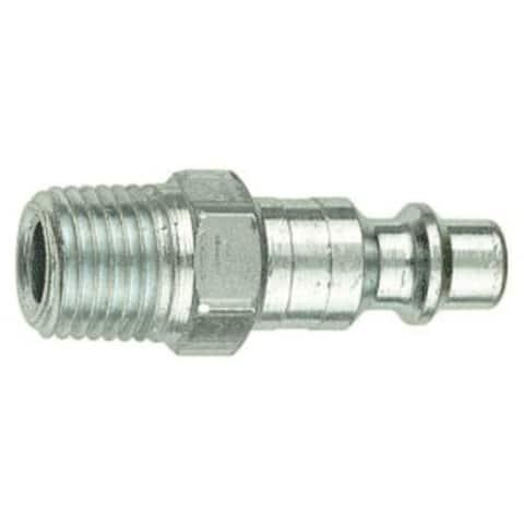 "Forney 75307 Air Fitting Plug, 3/8"" x 3/8"" Male Npt"