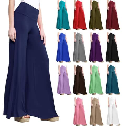 Women's Casual Comfy Wide Leg Palazzo Lounge Pants