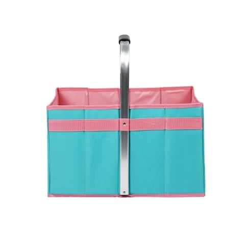 "16.5"" H Foldable Picnic Basket"