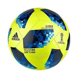 Adidas Mens World Cup Glide, Syello,Solblu,Broyal, 3