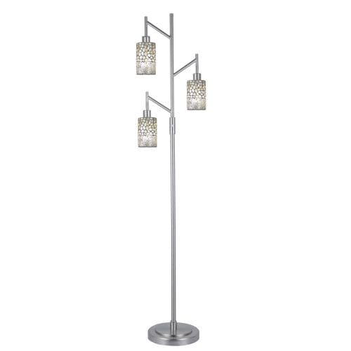 Dale Tiffany PF12359 Alps 3 Light Torchiere Lamp
