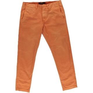 Polo Ralph Lauren Womens Cotton Boyfriend Casual Pants - 2