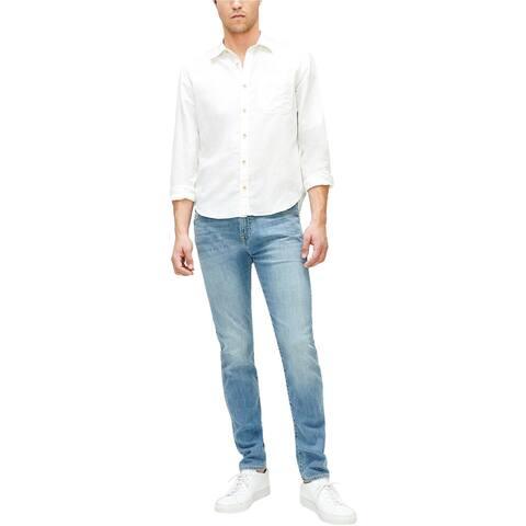 7 For All ManKind Mens Luxe Performance Paxtyn Skinny Fit Jeans, Blue, 31W x 32L - 31W x 32L