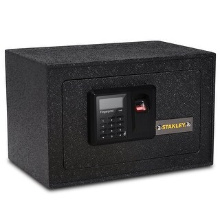 Stanley Solid Steel Biometric Personal Home Safe