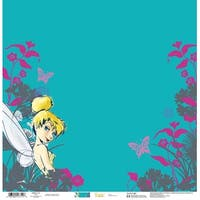 "Tinkerbell - Disney Single-Sided Paper 12""X12"""