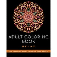 Skyhorse Publishing-Adult Coloring Book: Relax