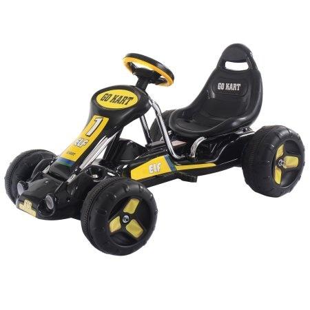 shop go kart kids ride on car pedal powered car 4 wheel racer toy