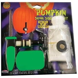 "Pumpkin Pro 94821 Halloween Pumpkin Drink Dispenser Kit, Multicolor - 10.88"" h x 10.88"" w x 10.88"" l"