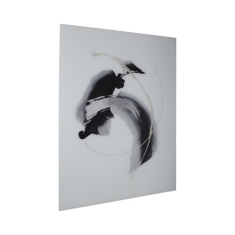 Jenise Black/Silver/Champagne Abstract Wall Art